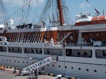 chmura statek pasażerski denny ii m s Zdjęcia Stock