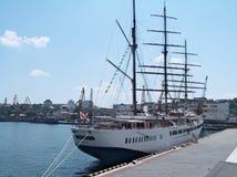 chmura statek pasażerski denny ii m s Zdjęcie Royalty Free