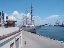chmura statek pasażerski denny ii m s Zdjęcia Royalty Free