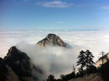 chmura szczyt Fotografia Royalty Free