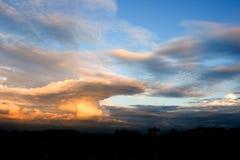 Chmura w niebie Obraz Royalty Free