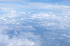 chmura white Zdjęcia Royalty Free