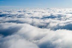 chmura widok Obraz Royalty Free