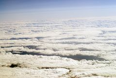 chmura widok Zdjęcie Stock