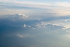 chmura widok Obrazy Royalty Free