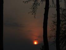 Chmura z słońcem obrazy stock