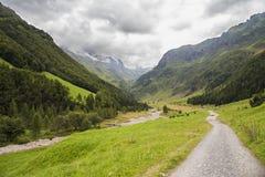 Chmurna dolina Zdjęcia Stock