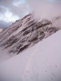 Chmurna góra Chachani Zdjęcia Royalty Free