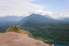 Chmurna perspektywa Zdjęcie Royalty Free