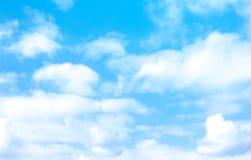 Chmurnego nieba abstrakcjonistyczny tło może używać jako tapeta, sztandar, reklama Fotografia Royalty Free