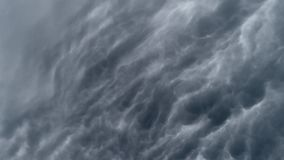 Chmurnego nieba timelaps zbiory