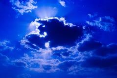 chmurni nieba Zdjęcia Stock