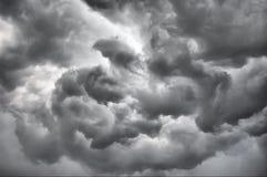 chmurnieje burzowego Fotografia Stock