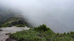 Chmurnieje czasu upływ duże krajobrazowe halne góry globalne ocieplenie zbiory