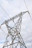 chmurnieje elektryczność pilon zdjęcia royalty free
