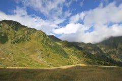 chmurnieje góry Obraz Royalty Free