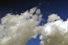 Chmurnieje który przynosi podeszczową gorącą wiosnę Obrazy Stock