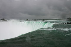 chmurnieje Niagara Zdjęcie Royalty Free