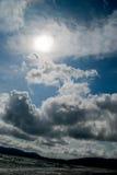 chmurnieje niebo Zdjęcie Royalty Free