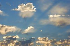chmurnieje niebo Obrazy Royalty Free