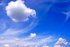 chmurnieje niebo Obrazy Stock