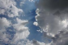 chmurnieje niebo Zdjęcia Royalty Free