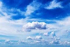 chmurnieje niebo Fotografia Royalty Free