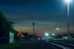 chmurnieje noctilucent Zdjęcie Royalty Free