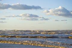chmurnieje ocean Obrazy Royalty Free