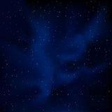 chmurnieje pojęcia nieba gwiazdy Obraz Royalty Free