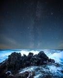 chmurnieje pojęcia nieba gwiazdy Obrazy Stock
