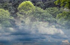 Chmurny środowisko Obrazy Royalty Free