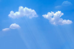 Chmurny dżdżysty i Zdjęcie Royalty Free