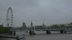 Chmurny dzień w Londyn zbiory