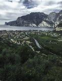 Chmurny dzień w Włochy obrazy royalty free