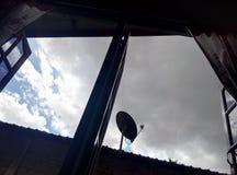 chmurny dzień Fotografia Royalty Free