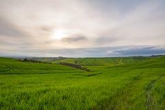 Chmurny dzień w Tuscany Zdjęcie Royalty Free