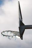 chmurny koszykówka dzień zdjęcia royalty free