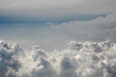 chmurny niebo Zdjęcie Stock