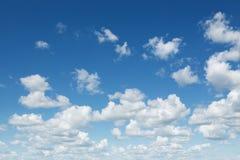 Chmurny niebo Obraz Stock