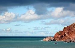 chmurny seascape Obraz Royalty Free