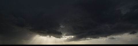 chmury światło Obraz Royalty Free