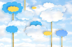 Chmury royalty ilustracja