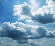 chmury zdjęcie stock