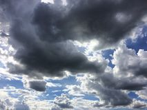 Chmury Fotografia Royalty Free