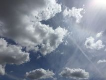 Chmury 047 Obraz Royalty Free