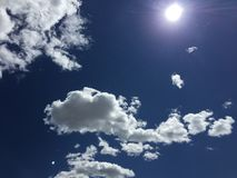 Chmury 006 Obrazy Royalty Free