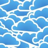 chmury błękitny grupa Fotografia Stock