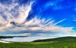 Chmury - Baluzek Obrazy Stock