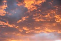 chmury burza Zdjęcia Royalty Free